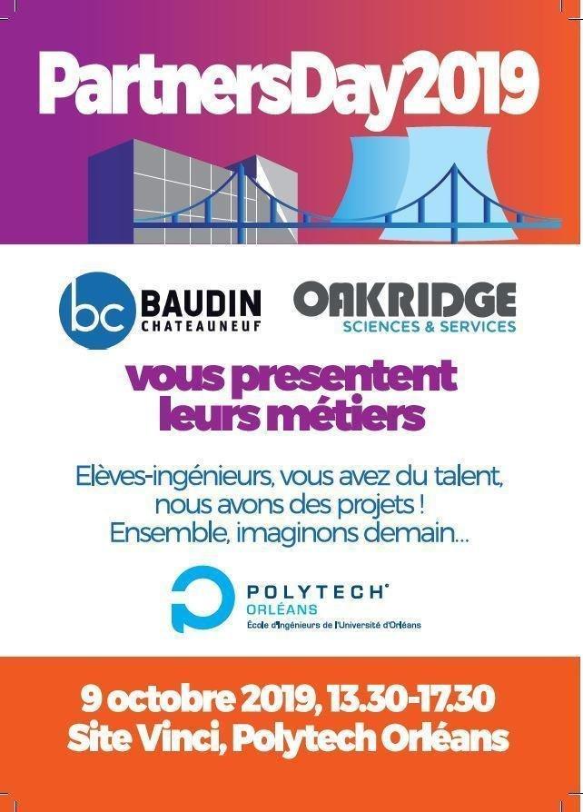 PartnersDay2019 - Elèves ingénieurs, vous avez du talent, nous avons des projets ! Ensemble imaginons demain...